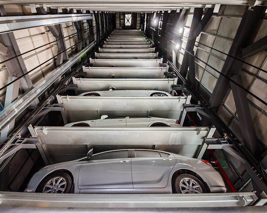 垂直升降机械车库