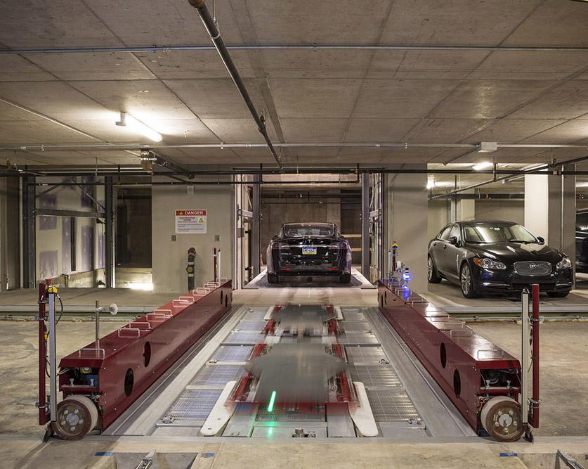 平面移动机械立体车库