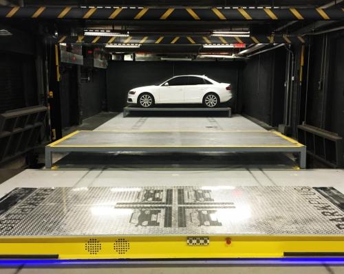 机器人机械立体车库