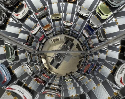 圆形垂直升降机械车库
