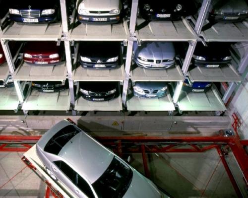 厢形垂直升降机械车库