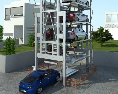 PCX垂直循环机械车库